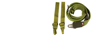 ICS MS-02 Three Point Sling (OD GREEN)