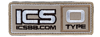 MS-136 ICS PATCH BLOOD TYPE-O (COLOR: TAN)