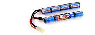 Tenergy NIMH9.6V1600N NiMH 9.6V 1600mAh Nunchuck Rechargeable Battery Pack