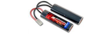 Tenergy NIMH9.6V2000AA NiMH 9.6V 2000mAh Nunchuck Rechargeable Battery Pack