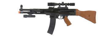 UKARMS P1056 MP44 SPRING RIFLE W/ SCOPE AND FLASHLIGHT