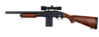 UKARMS P1566W Spring Shotgun in Wood