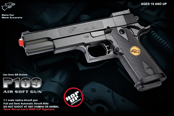 Double Eagle P169 Spring Pistol