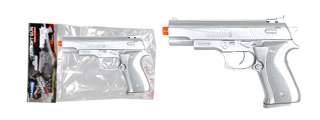 UKARMS P628S Spring Pistol in Poly Bag - Silver