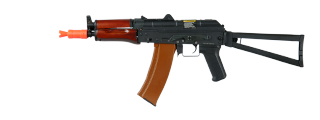 Dboys RK-01WS AKS-74U AEG Metal Gear, Full Metal Body, Steel Version, ABS Wood, Side Folding Stock