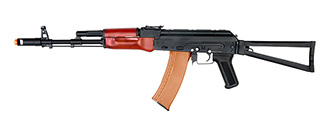 Dboys RK-03 AK-74S AEG Metal Gear, Full Metal Body, Real Wood, Metal Side Folding Stock