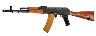 DBOYS RK-06 AK-74 FULL METAL AIRSOFT AEG (COLOR: BLACK & WOOD)