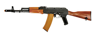 Dboys RK-06WS AK-74 AEG Metal Gear, Full Metal Body, Steel Version, Real Wood, Fixed Stock