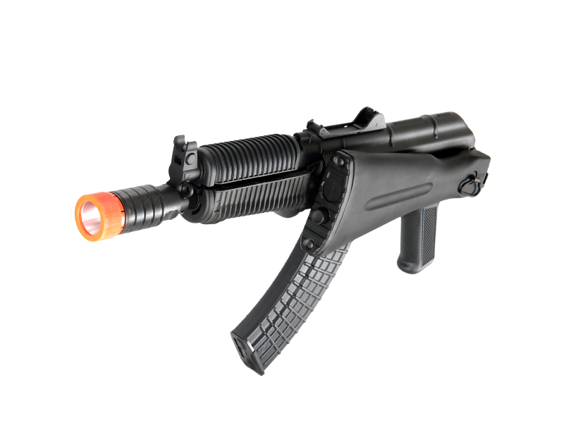RK-12-NB STUBBY AK SLR-106UR AEG RIFLE - NO BATTERY/CHARGER (BLACK)