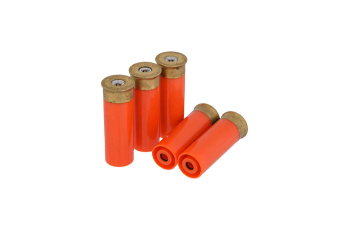PPS SS-12GA-06 SHOTGUN SHELLS PACK OF 5 (COLOR: ORANGE)