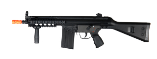 JG T3-MC51G RIS AEG Metal Gear, Polymer Body, Fixed Stock, Vertical Foregrip