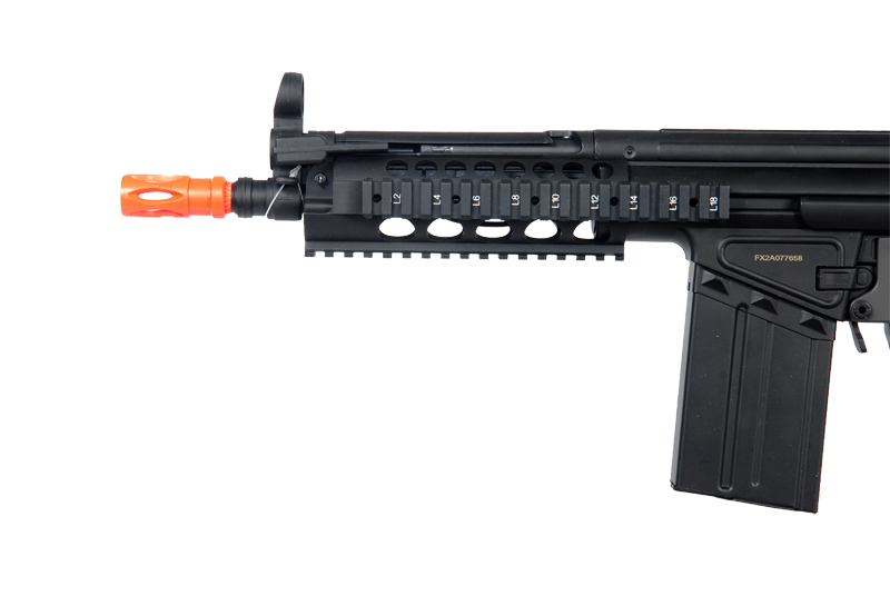 JG T3-MC51P RIS AEG Metal Gear, Polymer Body, Adjustable Pull Stock, Vertical Foregrip