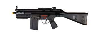 JG T3-SASG FS3-SAS T3 CQB AEG Metal Gear w/ Fixed Stock