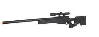 CYMA ZM52 BOLT ACTION SPRING MK96 AIRSOFT SNIPER RIFLE - BLACK