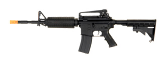 Cyma ZM81B M4A1 AEG Plastic Gear, Polymer Body, Lipo Battery Included