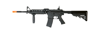 Cyma ZM81D M4 RIS AEG Plastic Gear, Polymer Body, Lipo Battery Included