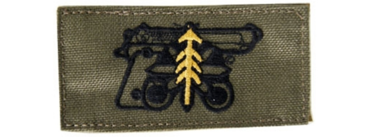 AC-137G ADHESIVE HIGH QUALITY M9 COVERT PATCH (OLIVE DRAB)