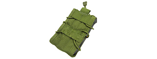 AC-302G CROSS MODULAR SINGLE RIFLE MAGAZINE POUCH (OD)