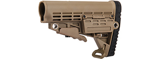 AC-405T COLLAPSIBLE STOCK (DARK EARTH)