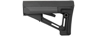 AC-460B STR FULLY ADJUSTABLE M4/M16 AIRSOFT RIFLE BUTTSTOCK (BLACK)