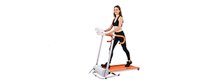AU-500R AUWIT 600W ELECTRIC MOTORIZED FOLDING TREADMILL (ORANGE)