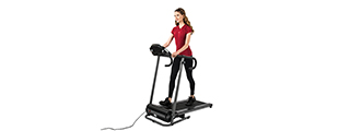 AU-501B AUWIT 1100W ELECTRIC MOTORIZED FOLDING TREADMILL (BLACK)