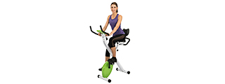 AU-504G AUWIT MAGNETIC EXERCISE BIKE W/ TENSION CONTROL (GREEN)
