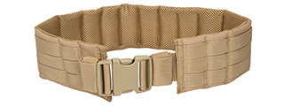 CA-1059TN NYLON MOLLE BELT PANEL (TAN)