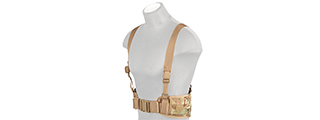 CA-1060CN MOLLE BATTLE BELT W/ SUSPENDERS (CAMO)
