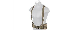 CA-1060F MOLLE BATTLE BELT W/ SUSPENDERS (AT-FG)