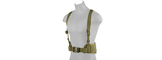 CA-1060GN MOLLE BATTLE BELT W/ SUSPENDERS (OD)