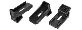 CA-1077B MAGPOD FOR P-MAG (BK), 3-PACK