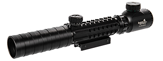 CA-1411 3-9X32 EG RED & GREEN ILLUMINATED SCOPE