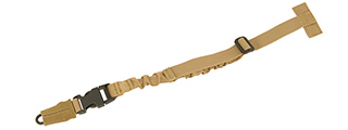 CA-1440T QR MOLLE ATTACHMENT BUNGEE SLING (TAN)