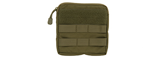 CA-1466GN MOLLE ADMIN MEDICAL EMT POUCH (OD)