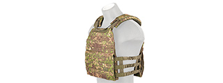 CA-1506P TACTICAL PLATE CARRIER (PC GREEN)