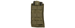 CA-1514GN SINGLE MOLLE POUCH (OD)