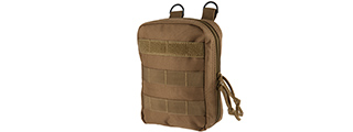 CA-2194T EMT FIRST AID POUCH LASER CUT MOLLE WEBBING (TAN)