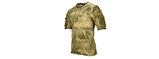 CA-2741F-M LANCER TACTICAL SPECIALIST ADHESION T-SHIRT - MEDIUM (FOLIAGE)