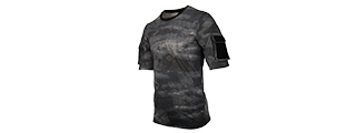 CA-2741LE-L LANCER TACTICAL SPECIALIST ADHESION T-SHIRT - LARGE (SMOKE GRAY)