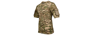 CA-2741MA-L LANCER TACTICAL SPECIALIST ADHESION T-SHIRT - LARGE (CAMO DESERT)