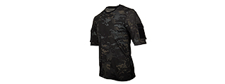 CA-2741MB-L LANCER TACTICAL SPECIALIST ADHESION T-SHIRT - LARGE (CAMO BLACK)