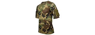CA-2741W-L LANCER TACTICAL SPECIALIST ADHESION T-SHIRT - LARGE (WOODLAND)
