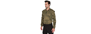 CA-2747F-XL SHOULDER ARMOR JERSEY - X-LARGE (FOLIAGE GREEN)