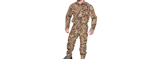 RUGGED COMBAT UNIFORM SET w/ SOFT SHELL PADDING (HLD), 3XL