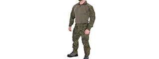 CA-2760FL-M COMBAT TACTICAL UNIFORM SET (TETRIS LETO), MED