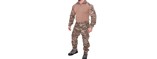 CA-2760MA-XXL COMBAT TACTICAL UNIFORM SET (MODERN CAMO), 2XL
