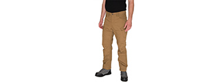 CA-2762CB-L OUTDOOR RECREATIONAL PERFORMANCE PANTS (COYOTE BROWN), LRG