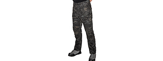 CA-2762MB-M RESISTORS OUTDOOR RECREATIONAL PANTS - M (CAMO BLACK)