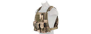 CA-301F MOLLE PLATE CARRIER VEST (AT-FG)